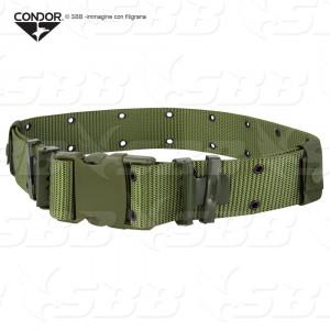 Cinturoni nylon combattimento fibbia plastica TIPO US attacco tridente