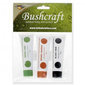 Trucco camo 3 colori (in tubetti) in blister BCB