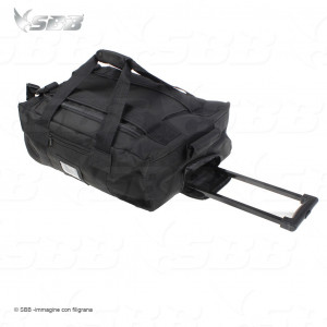Borsa trolley nera 55x40x20 by SBB