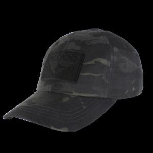 Berretti cotone c/velcri tipo CONTRACTOR Black Tropic