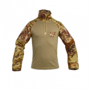 Combat shirt c/maniche vegetate digitali N. Tipo
