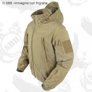 Giubbino ANTIVENTO-Antipioggia (soft shell) leggera c/cappuccio SUMMIT ZERO