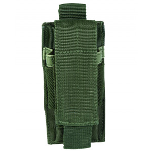 Portacaricatori MOLLE 9mm. 1 posto c/pattina